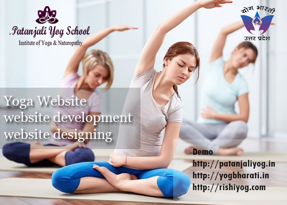 Yoga website development